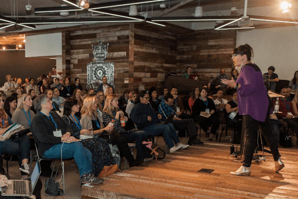 Social Media Week Austin 2019   #SMWATX - Molly Mahoney   © Ashlee Newman Photography